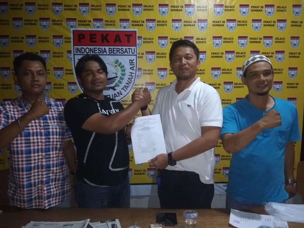 Pertama Kali, DPD Pekat IB Kota Padang Terbitkan SK DPK