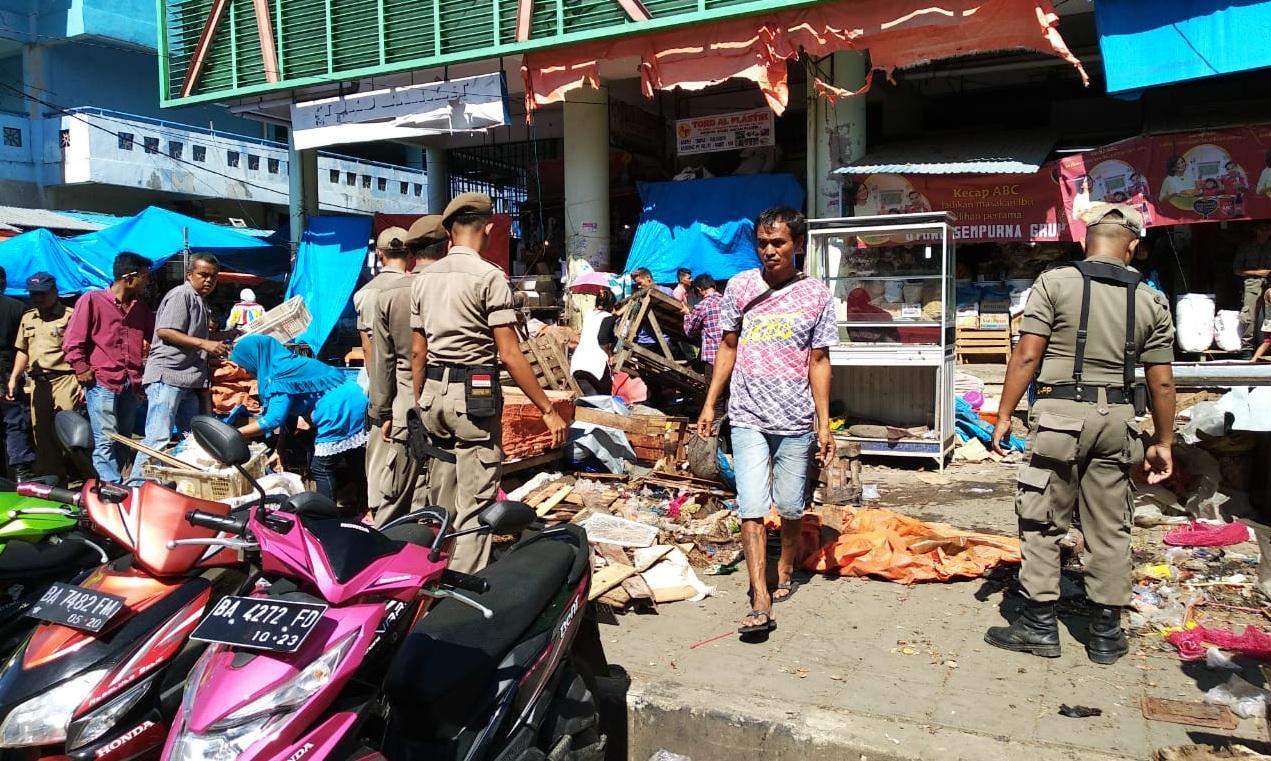 Gusur PKL, 'Urang Bagak' Dinas Perdagangan Beraksi Kembali