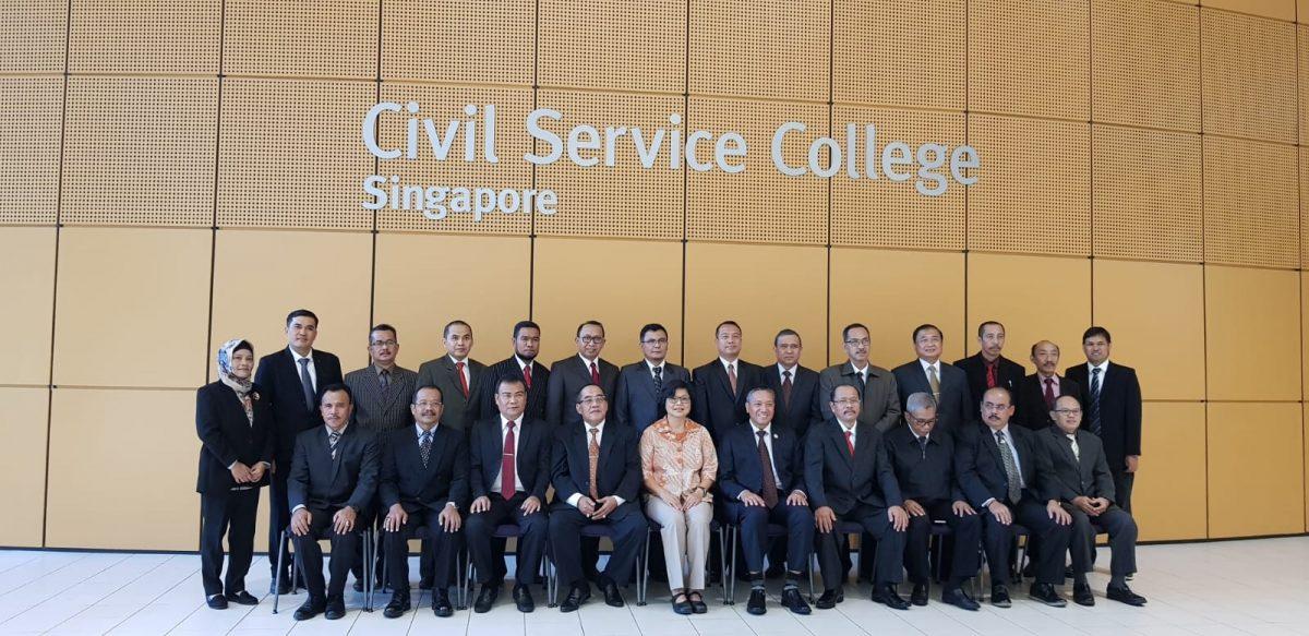 Kepala Bappeda Mentawai Bersama 19 Kabupaten Kota di Indonesia Mengikuti Study Visit Public di Singapura