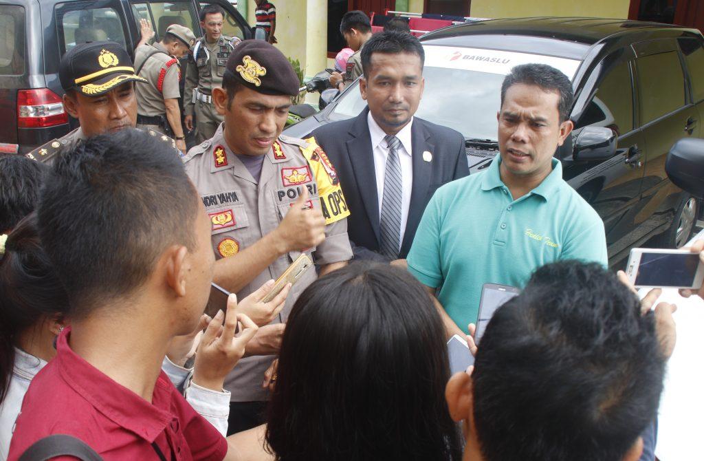 Penghitungan Suara Tingkat Kabupaten, Polres Mentawai Siagakan Personil Dua Kali 12 Jam