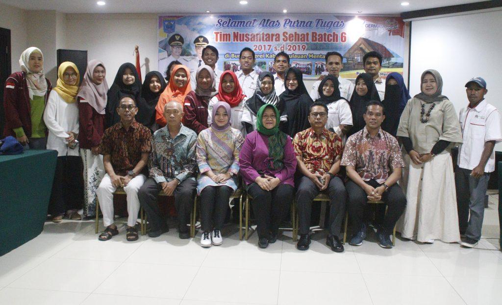 Maksimalkan Pelayanan Kesehatan, Sekdakab Mentawai Usulkan Kontrak Kerja Tim Nusantara Sehat 5 Tahun