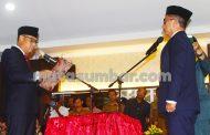 Martinus Dahlan Resmi Jabat Sebagai Sekda Definitif