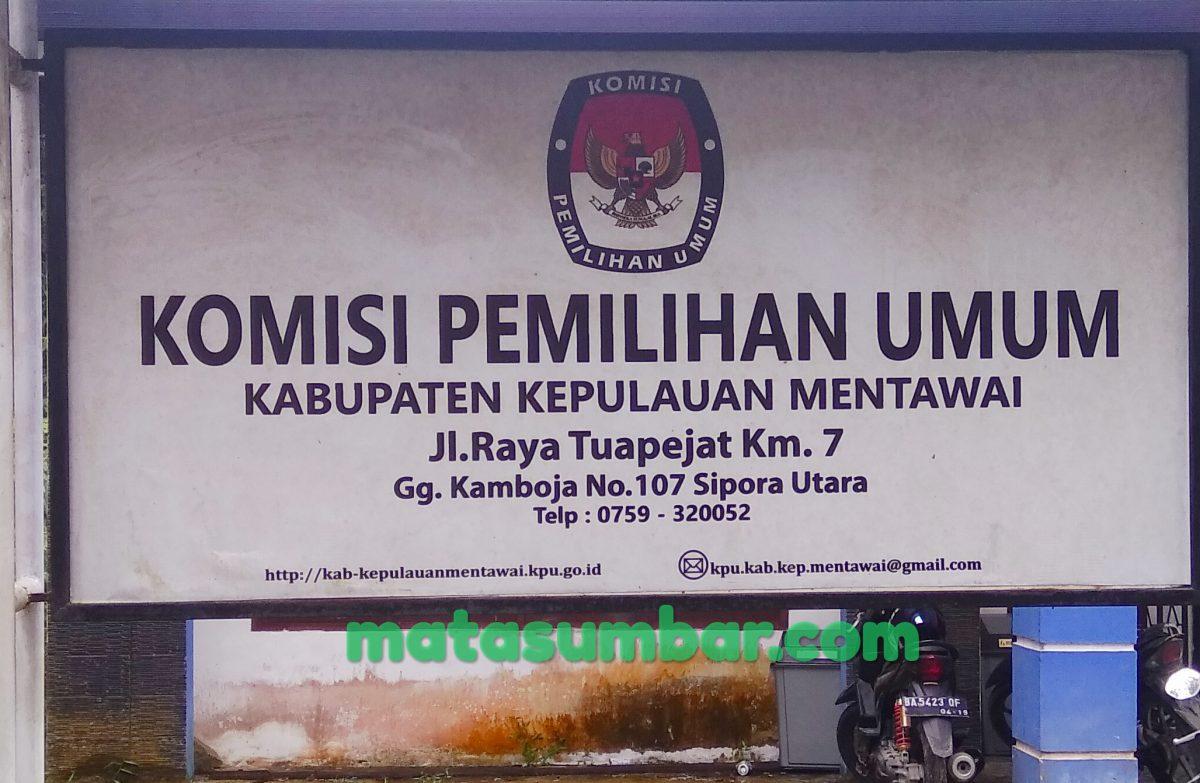 Rekap KPU, Berikut Ini Nama Caleg Bakal Mengisi Kursi DPRD Kabupaten Mentawai