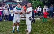 Tim Sepak Bola Sijangko Berhasil Rebut Piala Tetap Wali Nagari Tabek