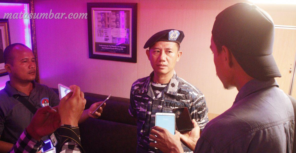 Patroli KRI Kurau-856 di Pastikan Perkuat Keamanan Perairan Mentawai