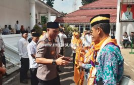 246 Jemaah Haji Tanah Datar di Lepas Bupati Irdiansyah Tarmizi