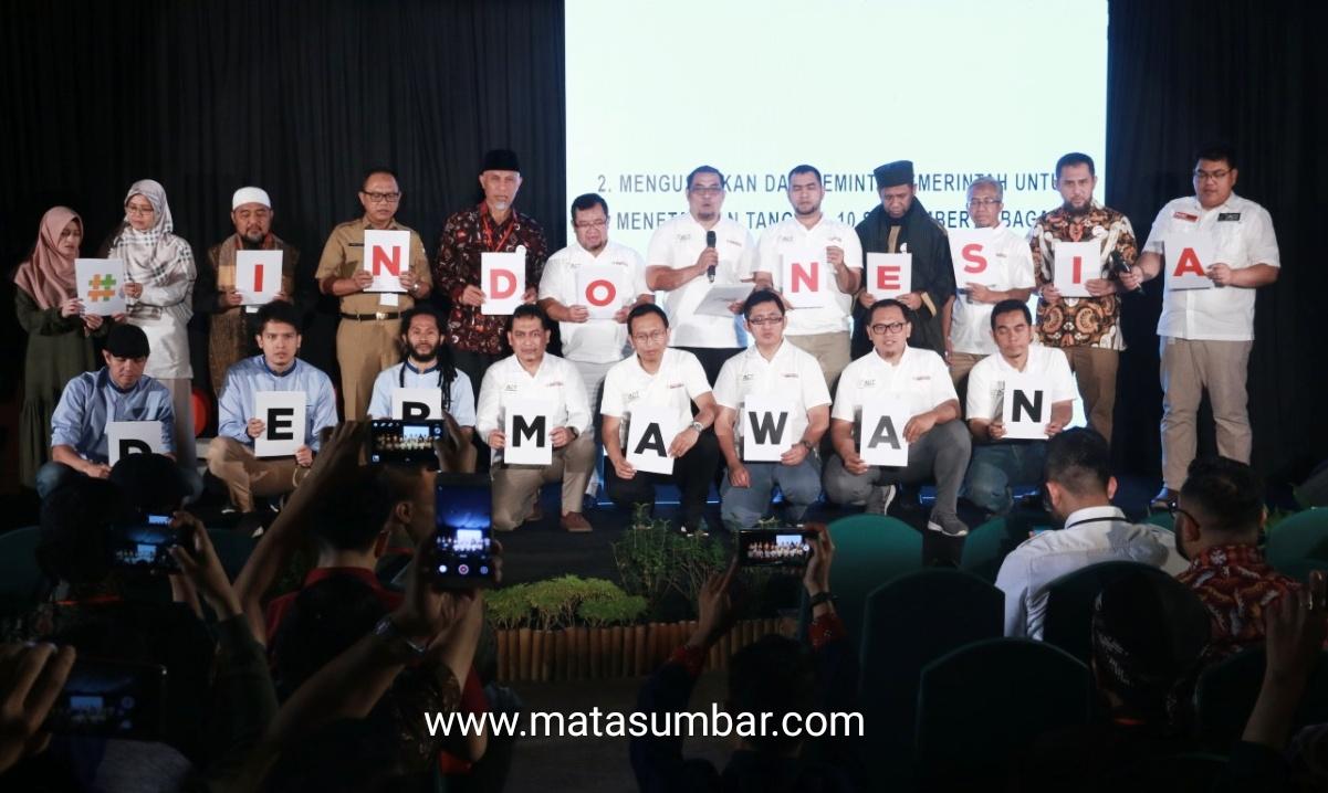 Aktifkan Kembali Nilai-Nilai Kedermawanan, ACT Deklarasi Gerakan Nasional Indonesia Dermawan