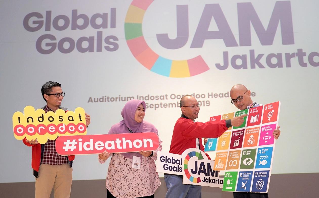 Indosat Ooredoo Gelar Global Jams Pertama di Indonesia