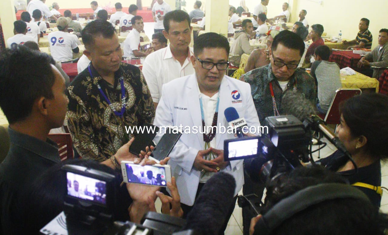Terpilihnya Dua Orang Anggota DPRD Mentawai, DPD Partai Perindo Gelar Syukuran