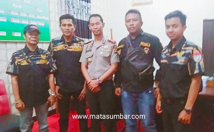 DPD Pekat IB Padang Panjang Sambangi Kapolres AKBP Sugeng Hariyadi