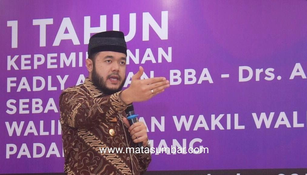 Fadly Amran Bersama Asrul Komitmen Jadikan Kota Padang Panjang Anti Korupsi