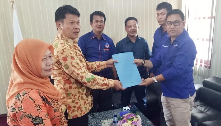 DPD Partai Nasdem Ajukan Pimpinan Definitif