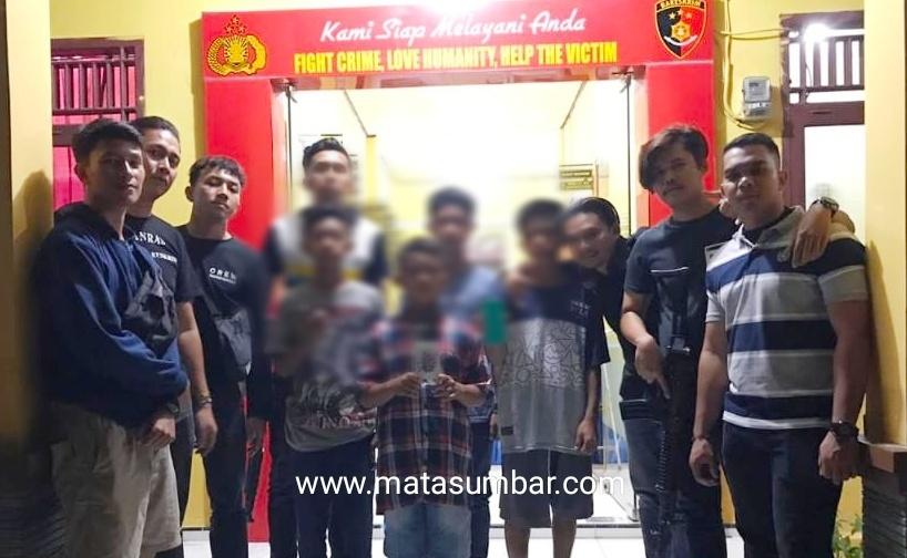 Empat Pelaku Pencurian di Amankan Tim Tekab Reskrim Mentawai