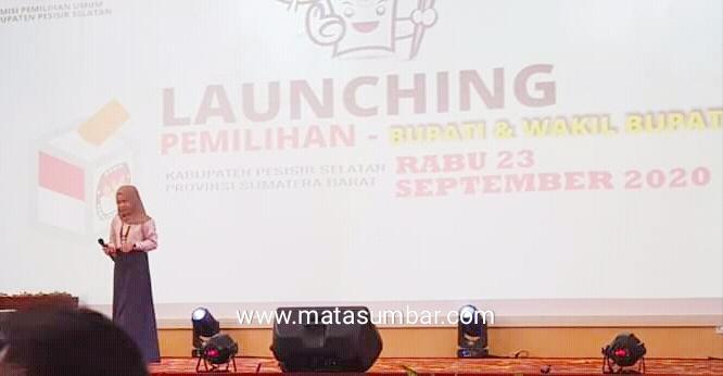 KPU Pessel Lounching Tahapan Pilkada 2020