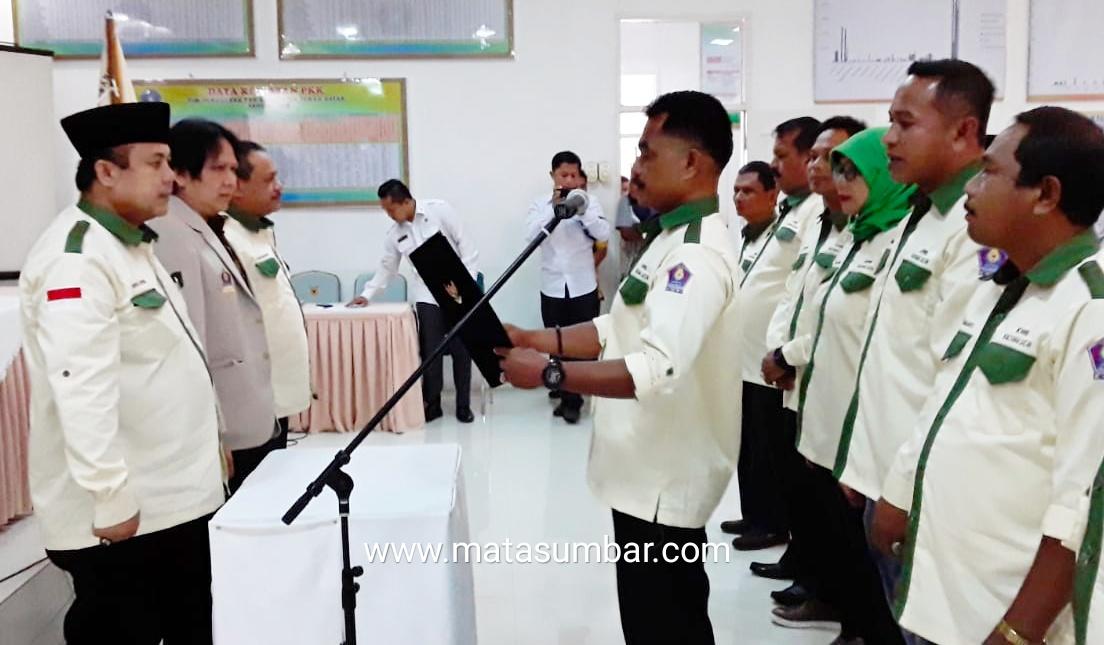 Ketua DPC KWRI Tanah Datar Masa Periode 2019-2022 Resmi di Pimpin Bonar Surya Winata