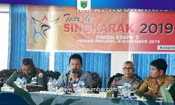 TdS tahun 2019, Padang Panjang Mendapat Lokasi Finish Etape Tiga Kali
