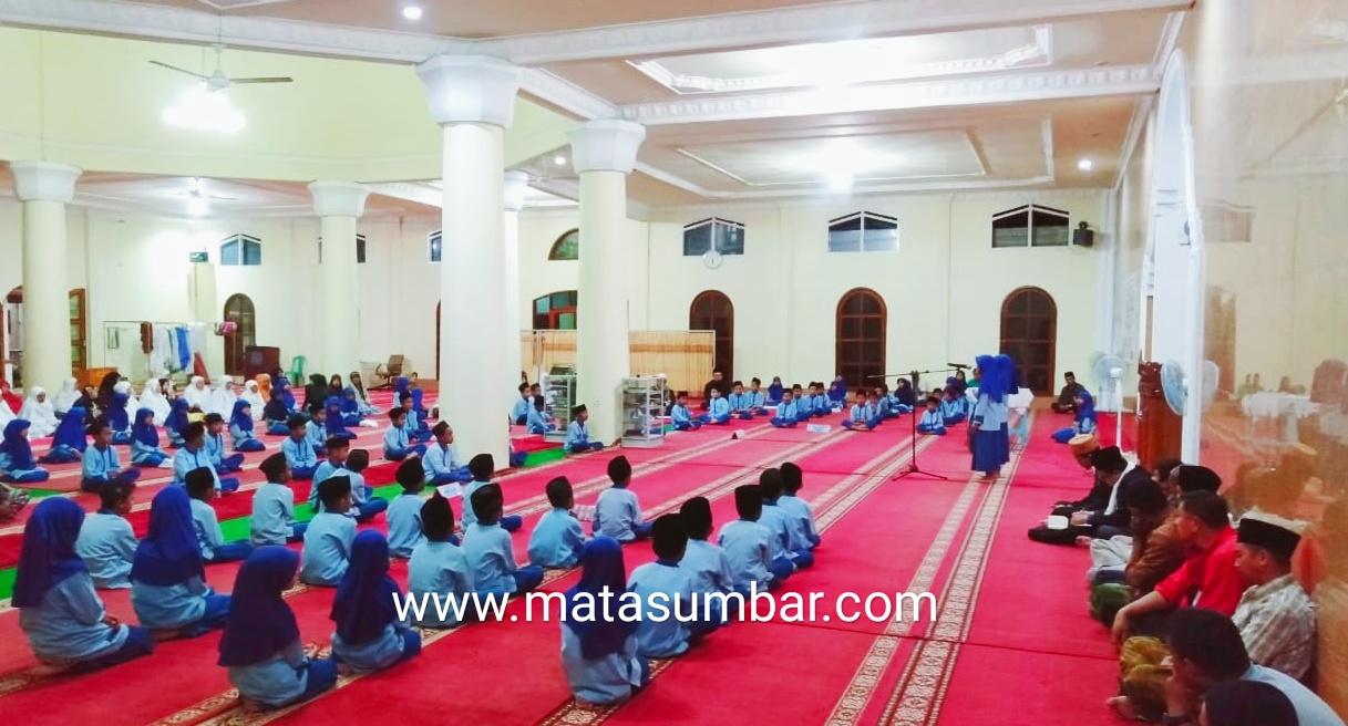 MDTA Masjid Agung Ashliyah Terpilih Sebagai Terbaik Penilaian Perlombaan TPI MDTA di Kota Padang Panjang