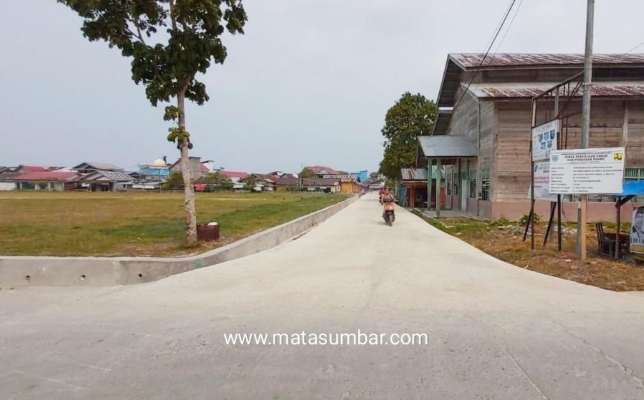 Pembangunan Jalan Lingkar Muara Siberut Standar Kabupaten Terwujud, Masyarakat Ucapkan Terima Kasih
