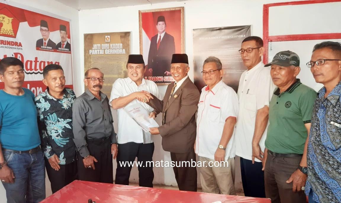 Wahyu Iramana Putra Penuih Panggilan DPC Partai Gerindra Untuk Daftar Sebagai Balon Bupati Tanah Datar