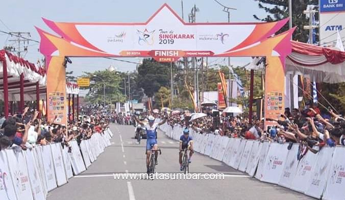 Pembalap Asal Fhilipina Jawara di Etape III Tour de Singkarak