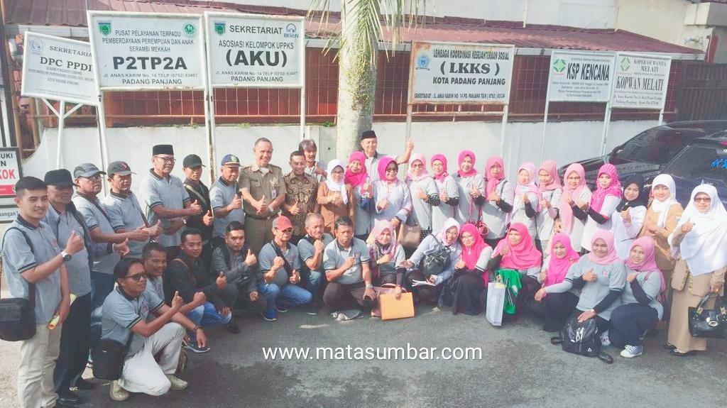 LPM Kota Padang Panjang Studi Komparatif ke Sawahlunto