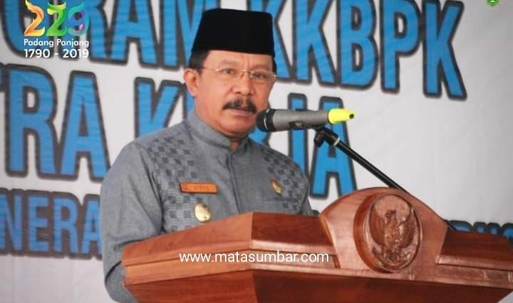 Wali Kota Padang Panjang, Asrul:Pentingnya Sosialisasi Program KKBPK Bagi Masyarakat