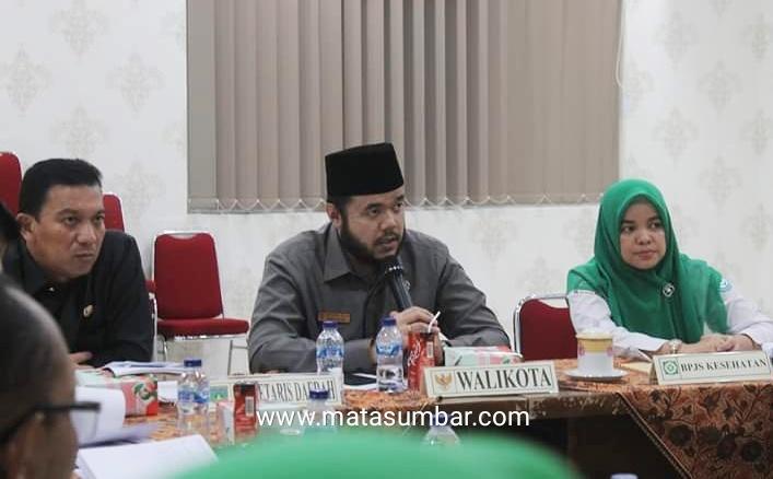 Capaian Kepesertaan BPJS di Kota Padang Panjang 95 Persen