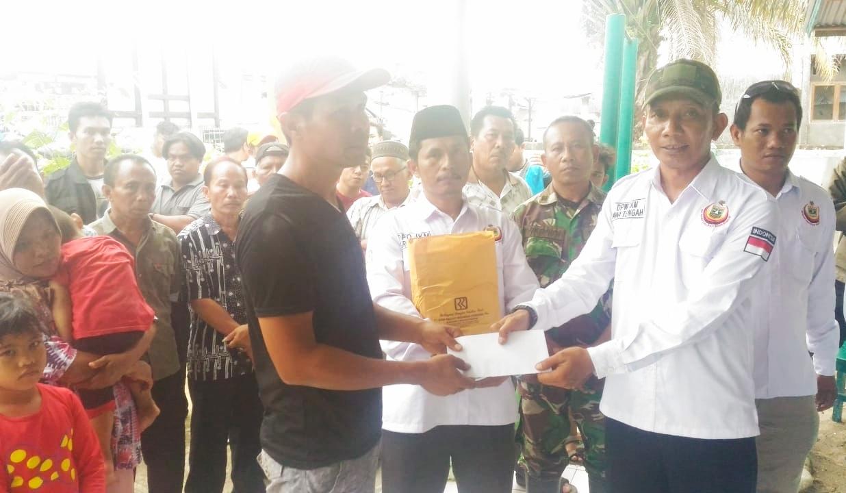 IKM Jawa Tengah Salurkan Bantuan Rp.73 Juta Untuk Korban Kerusuhan Wamena Berada di Pessel
