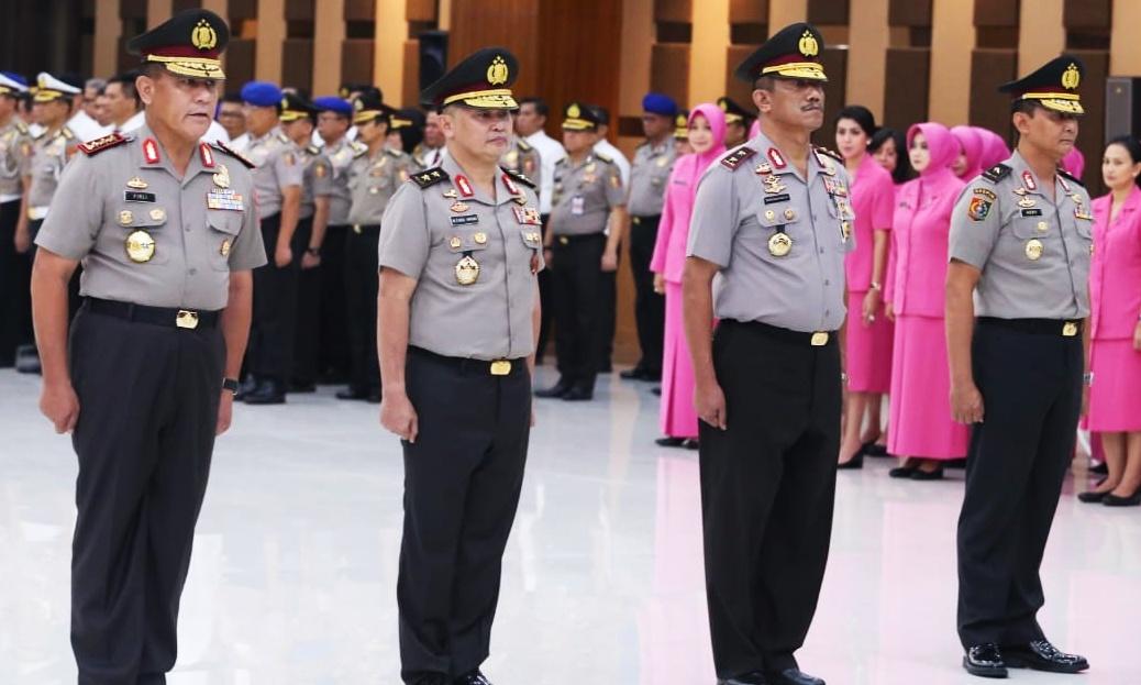 37 Pati Polri Naik Pangkat, Wakapolda Sumbar Sandang Pangkat Inspektur Jendral Polisi