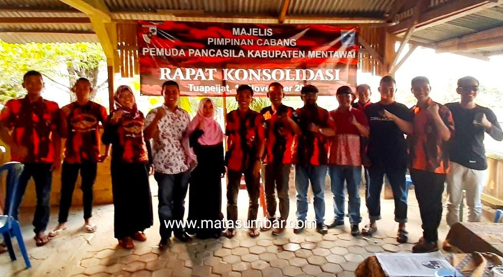 Menindaklanjuti Mubes MPN, MPC PP Mentawai Lakukan Konsolidasi Internal