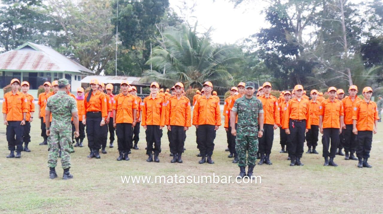 Kodim 0319/Mentawai Latih Satgas PB MPA Permildas