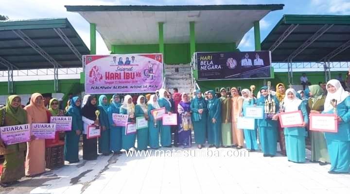 Peringatan HBN dan Hari Ibu di Padang Panjang Berakhir Dengan Pembagian Hadiah Perlombaan
