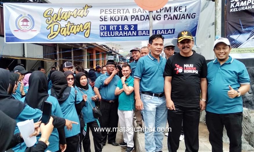 Bakti LPM, Wakil Walikota Padang Panjang Lounching Kampung Kreatif di Kelurahan Balai Balai