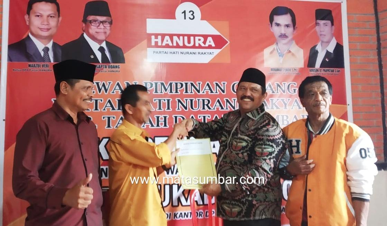 Maju Pilkada Tanah Datar, Indra Gunalan Berharap Dapat Rekomendasi Dari Partai Hanura
