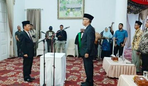 Direktur PDAM Tirta Alami Batusangkar Resmi di Jabat Muhammad Nazwir