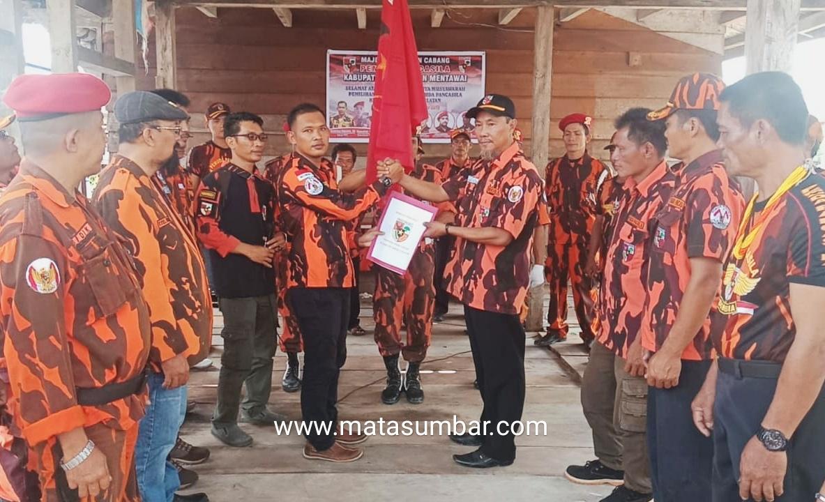 Ketua PAC PP Siberut Selatan Resmi di Lantik, Hendrikus Nopianto Harapkan Menjadi Kontrol Sosial di Tingkat Kecamatan