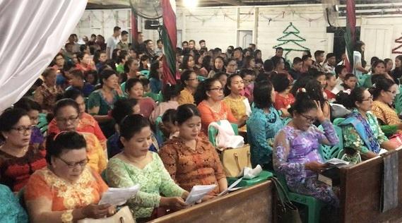 Perayaan Natal di Kabupaten Dharmasraya Kondusif