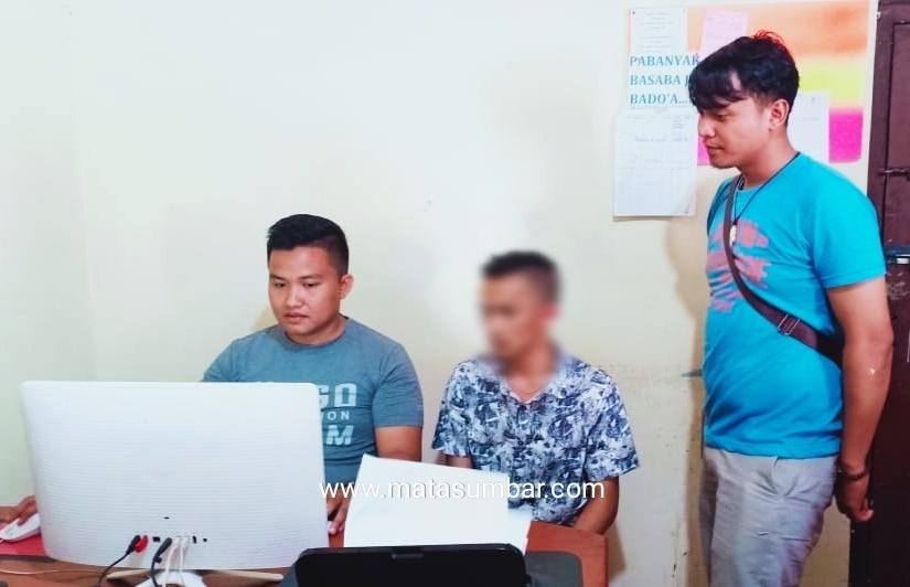 Kuras Puluhan Juta ATM Curian, Seorang Mahasiswa di Amankan Reskrim Mentawai