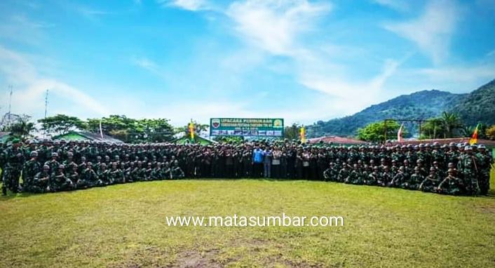 321 Siswa Tamtama TNI AD Ikuti Diksar