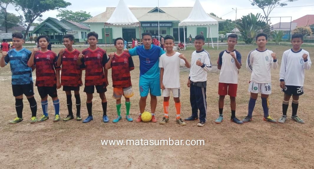 Turnamen Futsal Tingkat Pelajar di Mentawai Meriahkan Hari Juang TNI-AD