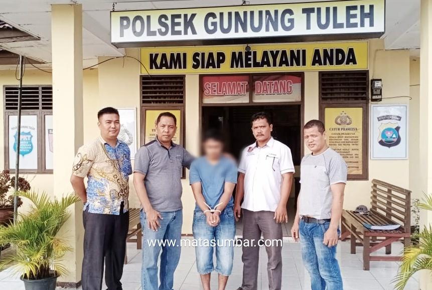 8 Bulan Buron, DPO Kasus Narkoba Berhasil di Amankan Polsek Gunung Tuleh