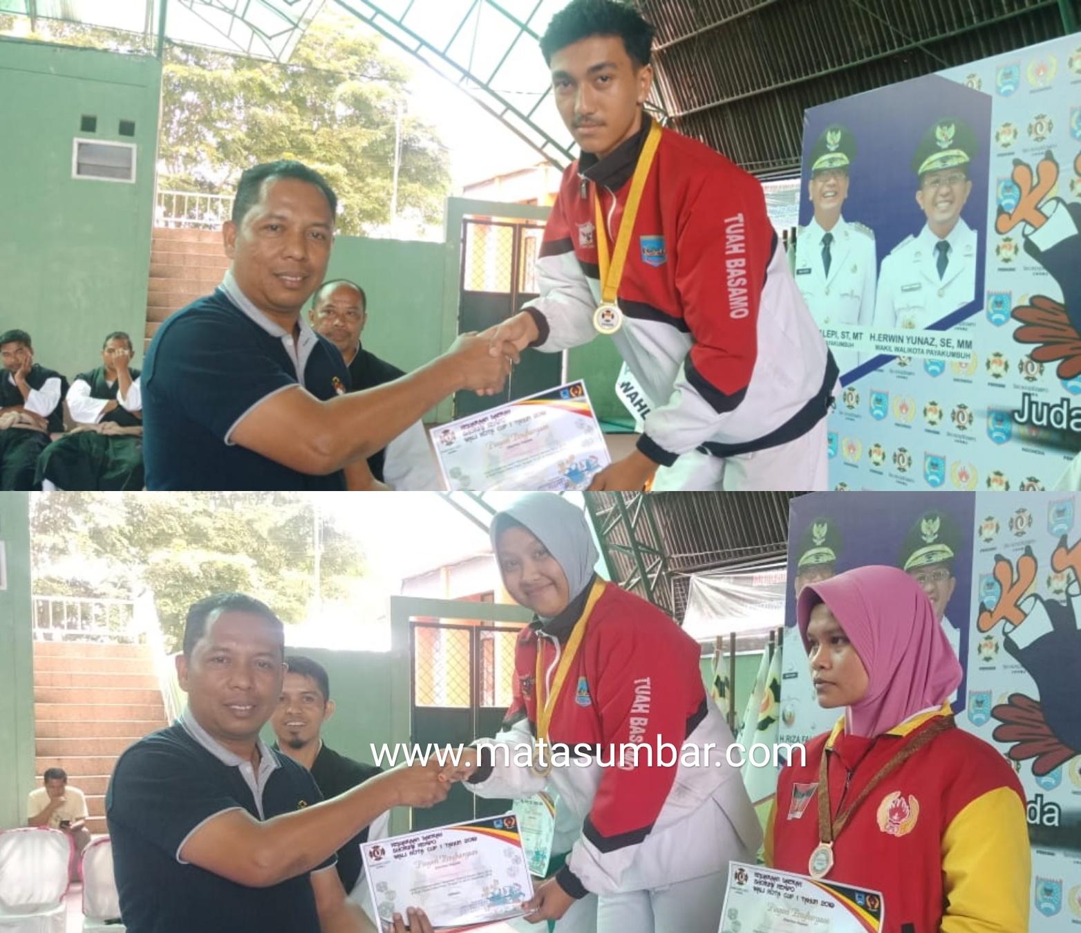 Kejurda Shorinji, Atlet Kempo Pasbar Berhasil Sabet Dua Medali Emas dan Perak