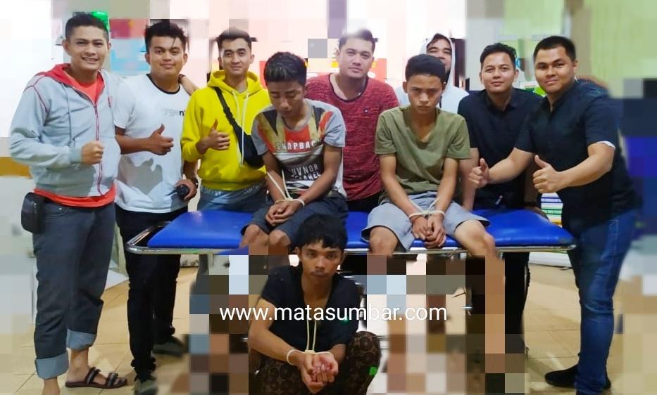 Tiga DPO Pelaku Curanmor Berhasil di Ringkus Polres Bukittinggi