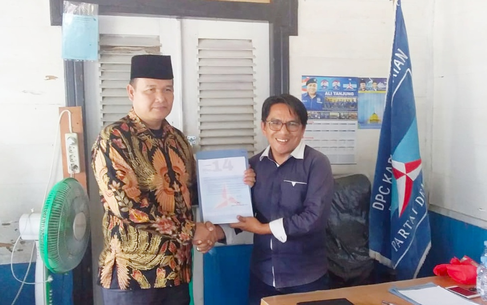 Burhanuddin Siap Maju Sebagai Balon Wakil Bupati Pessel Melalui Partai Demokrat
