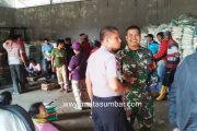 Pendistribusian Bantuan Pangan Non Tunai di Kawal Langsung Polsek Sikakap