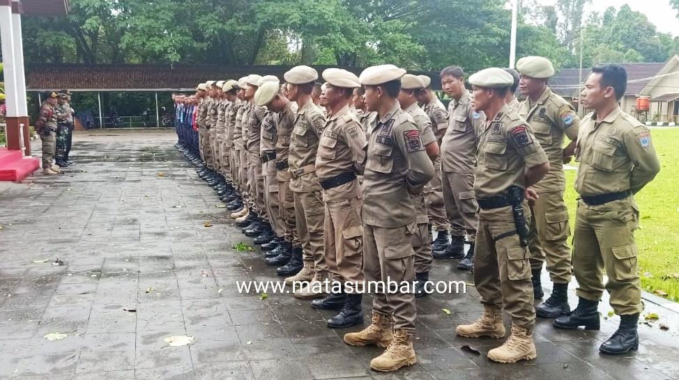 Tingkatkan Kedisiplinan, Satpol PP dan Damkar Mentawai Ikuti Pelatihan Kesemaptaan