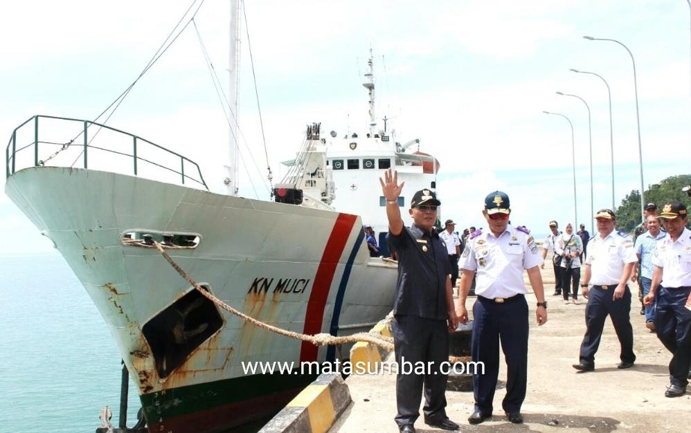 Akhirnya Impian Pelabuhan Teluk Tapang Terwujud, Pasbar Terima Bantuan Dana Dari Pemerintahan Pusat