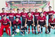 Silahturahmi Antar Personel, Polres Mentawai Gelar Turnamen Futsal