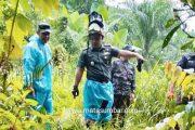 Dandim 0305/Pasaman Tinjau Lokasi Pelaksanaan TMMD 2020 di Pasaman Barat