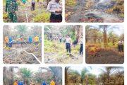 Dua Hektar Lebih Lahan Perkebunan Sawit Terbakar, Polres Pasbar Himbau Masyarakat Untuk Tidak Membakar Lahan